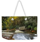 Autumn River Fall Weekender Tote Bag