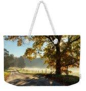 Autumn Road Weekender Tote Bag by Bill Wakeley