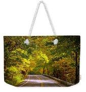 Autumn Road Weekender Tote Bag by Carol Groenen