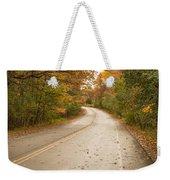 Autumn Road II Weekender Tote Bag