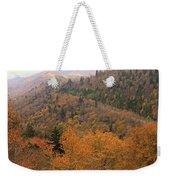 Autumn Roads Weekender Tote Bag