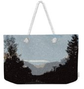 Autumn Roads Weekender Tote Bag