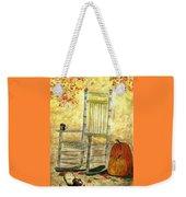 Autumn Rocks Weekender Tote Bag