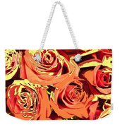 Autumn Roses On Your Wall Weekender Tote Bag