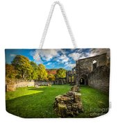 Autumn Ruins Weekender Tote Bag