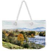 Autumn Rural Scene Weekender Tote Bag