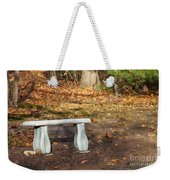 Autumn Seat Weekender Tote Bag