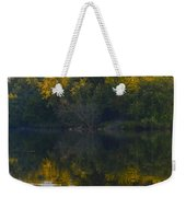 Autumn Shell Rock Panel 2 Weekender Tote Bag