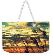 Autumn Skies Over The Ocean Weekender Tote Bag