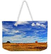 Autumn Sky Impasto Weekender Tote Bag