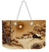 Autumn Snow Weekender Tote Bag