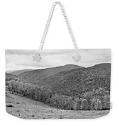 Autumn Song Monochrome Weekender Tote Bag