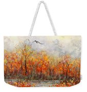 Autumn Song Weekender Tote Bag