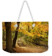 Autumn Stairs Weekender Tote Bag