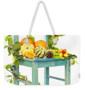 Autumn Still Life Chair Weekender Tote Bag