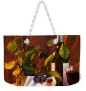 Autumn Still Life Weekender Tote Bag by Amanda Elwell