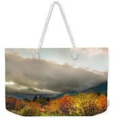 Autumn Storm Clearing Weekender Tote Bag