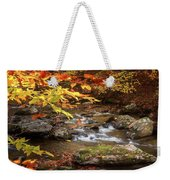 Autumn Stream Square Weekender Tote Bag