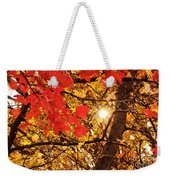 Autumn Sunrise Painterly Weekender Tote Bag