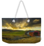 Autumn Sunset Over Meech Creek And Weekender Tote Bag