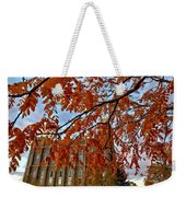 Autumn Temple Weekender Tote Bag