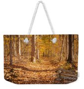 Autumn Trail Weekender Tote Bag