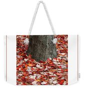 Autumn Tree Poster Weekender Tote Bag