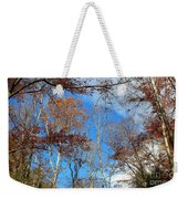 Autumn Trees And Heaven Weekender Tote Bag