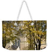 Autumn Trees In A Park Riga Latvia Weekender Tote Bag