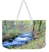 Autumn Tributary Weekender Tote Bag