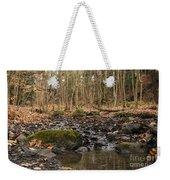 Autumn Tributary Path Weekender Tote Bag