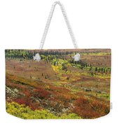 Autumn Tundra With Boreal Forest Weekender Tote Bag