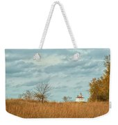 Autumn Twilight Pano Weekender Tote Bag