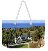 Autumn View On Mackinac Island Weekender Tote Bag