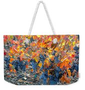 Autumn Vineyard Sunlight Weekender Tote Bag