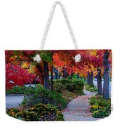Autumn Walk In Grants Pass Weekender Tote Bag