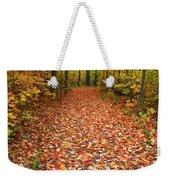 Autumn Walk In Ohio Weekender Tote Bag