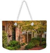 Autumn Walk In Pinehurst Weekender Tote Bag