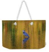 Autumn Watcher Weekender Tote Bag