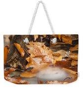 Autumn Water Eddy Weekender Tote Bag