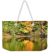 Autumn Watercolor Reflections Weekender Tote Bag