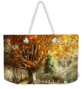 Autumn - Westfield Nj - I Love Autumn Weekender Tote Bag