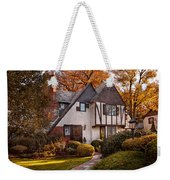 Autumn - Westfield Nj - Visting Grandpa's  Weekender Tote Bag