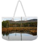 Autumn Wetlands Weekender Tote Bag