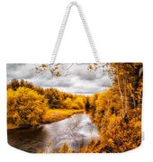 Autumn White Mountains Maine Weekender Tote Bag