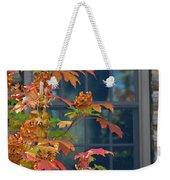 Autumn Window Weekender Tote Bag