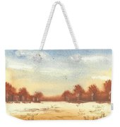 Autumn Woodlands Weekender Tote Bag