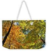 Autumn Woods Sky View Weekender Tote Bag