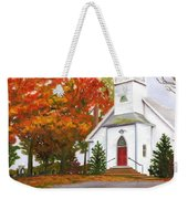 Autumn Worship Weekender Tote Bag