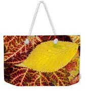 Autumn Yellow Weekender Tote Bag